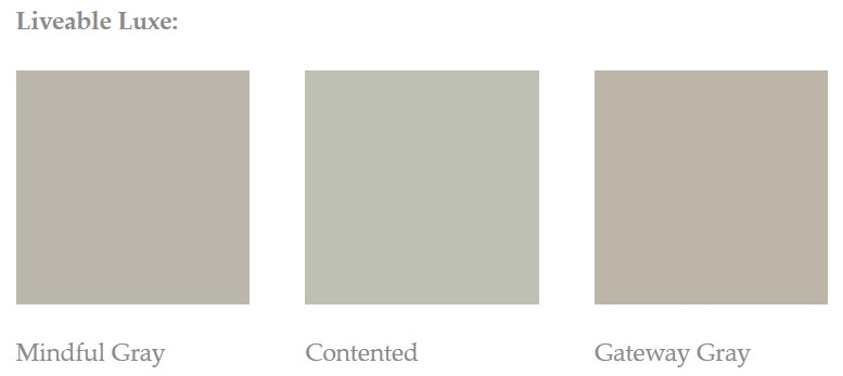 Wall paint color examples